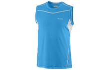 Columbia Men's Baselayer Lightweight Sleeveless Top compass blue